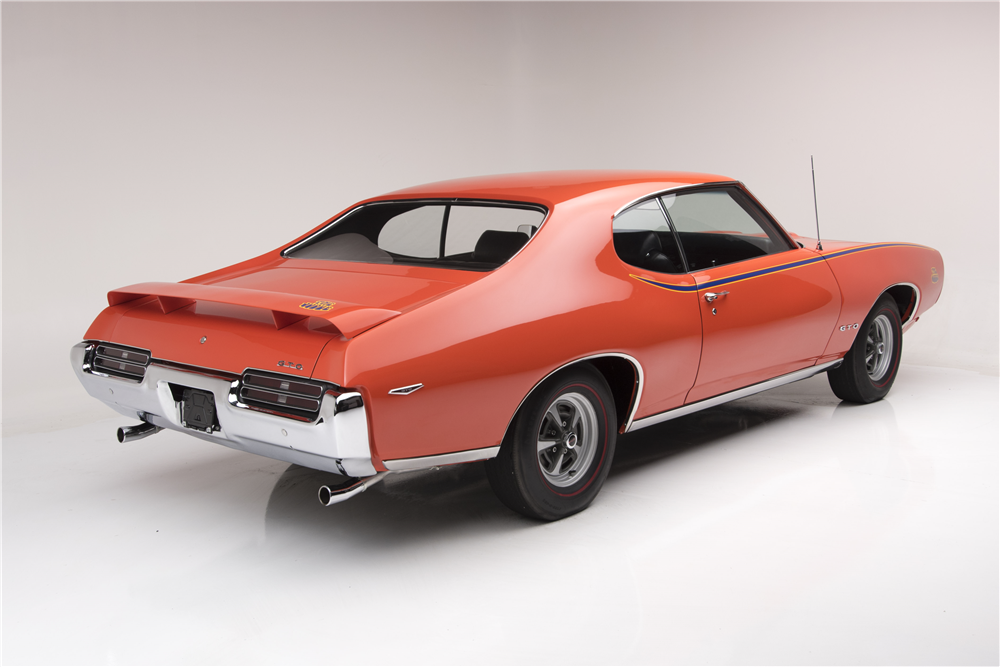 1969 PONTIAC GTO JUDGE RAM AIR IV - Rear 3/4 - 188607