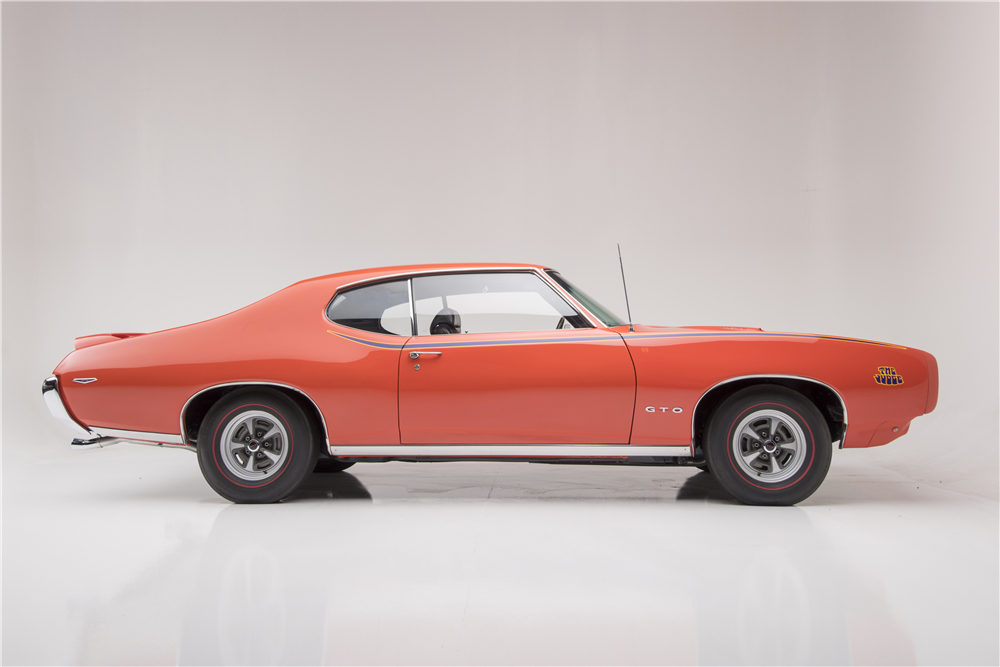 1969 PONTIAC GTO JUDGE RAM AIR IV - Side Profile - 188607
