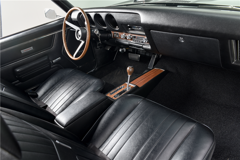 1969 PONTIAC GTO RAM AIR IV CONVERTIBLE - Interior - 188609