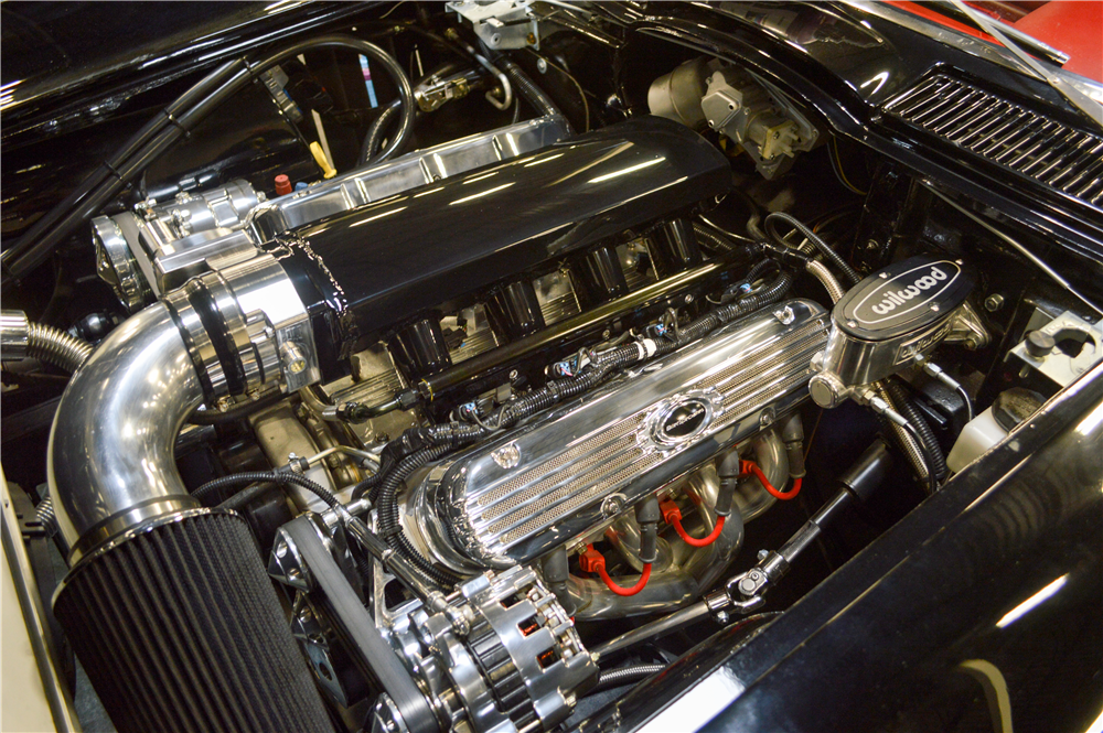 1966 CHEVROLET CORVETTE CUSTOM CONVERTIBLE - Engine - 188616