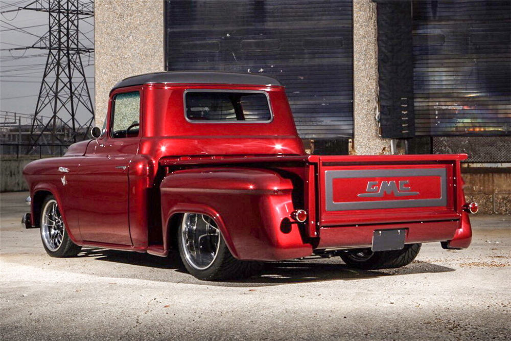 1956 GMC 100 CUSTOM PICKUP - Rear 3/4 - 188618