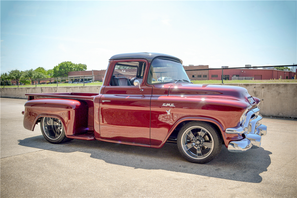 1956 GMC 100 CUSTOM PICKUP - Side Profile - 188618