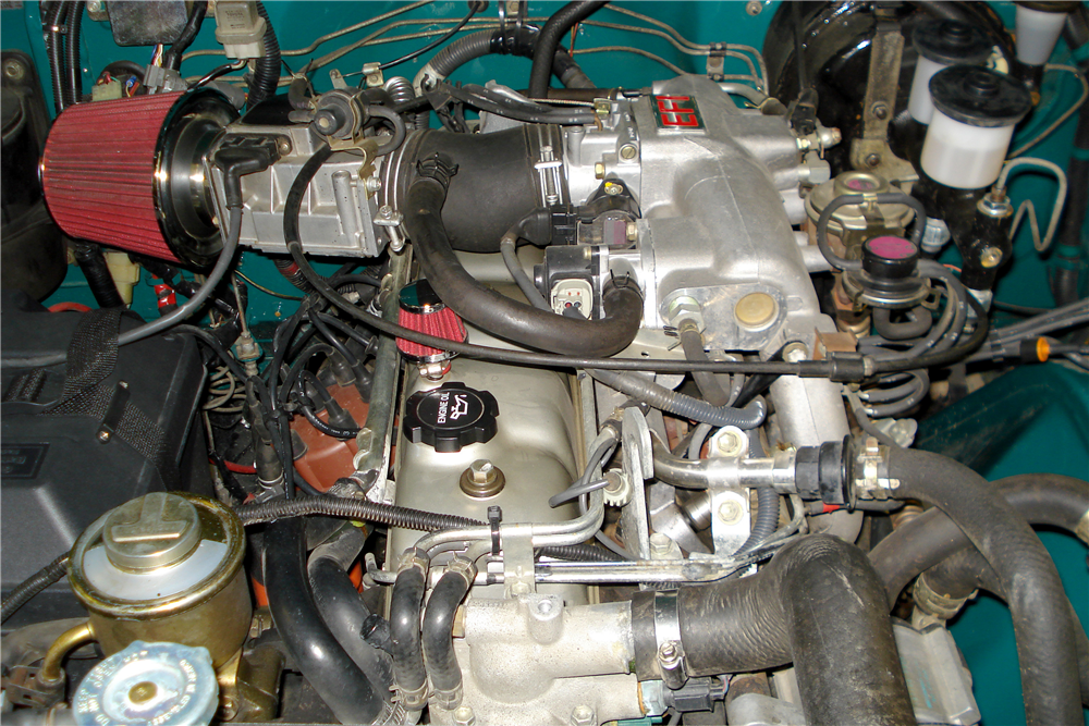 1978 TOYOTA LAND CRUISER FJ-40  - Engine - 188629