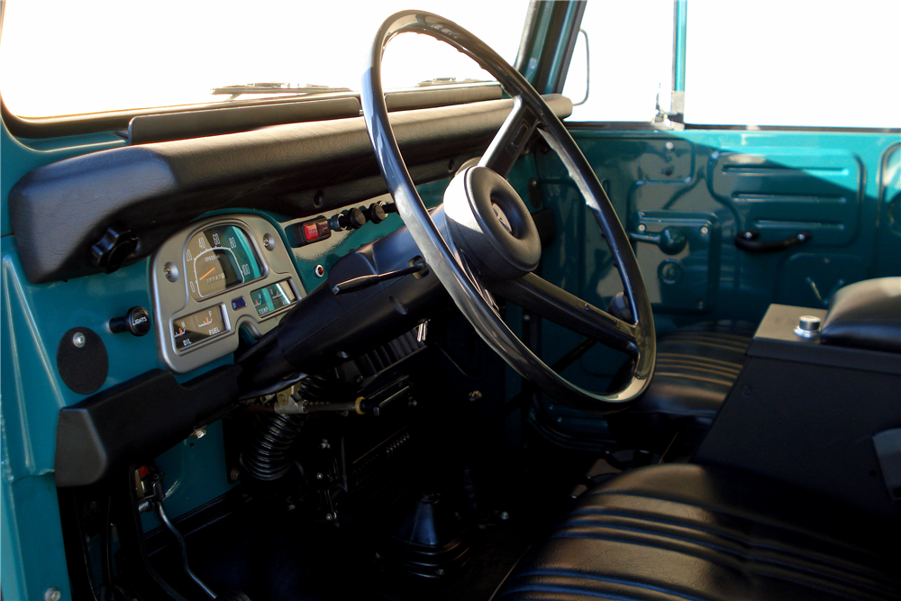1978 TOYOTA LAND CRUISER FJ-40  - Interior - 188629