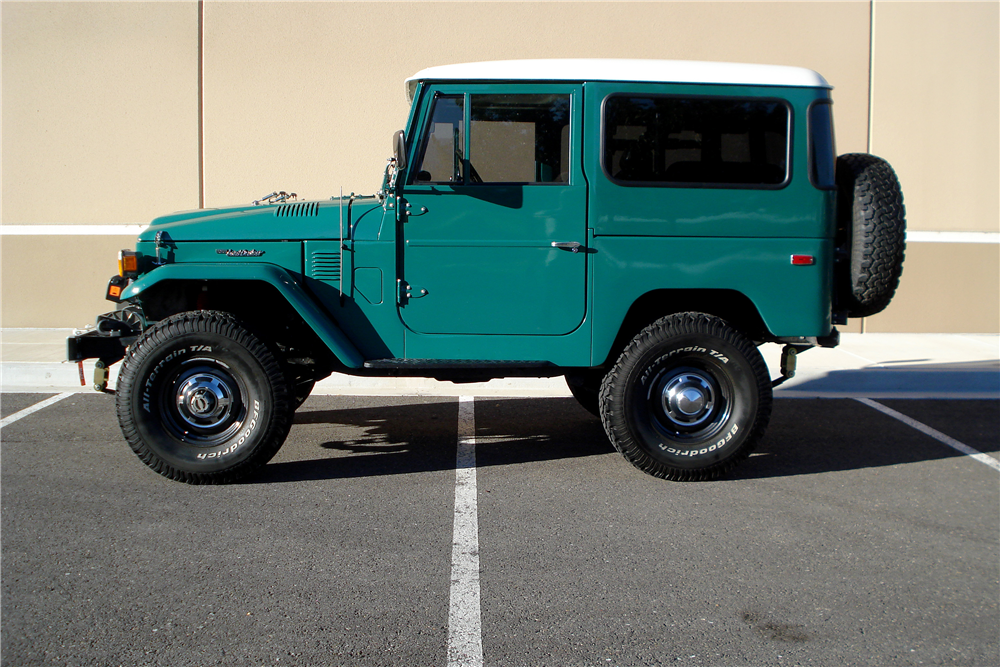1978 TOYOTA LAND CRUISER FJ-40  - Side Profile - 188629