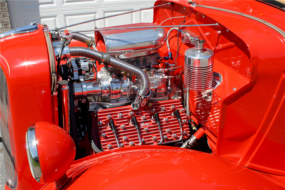 1936 FORD HALF-TON CUSTOM PICKUP - Engine - 188631