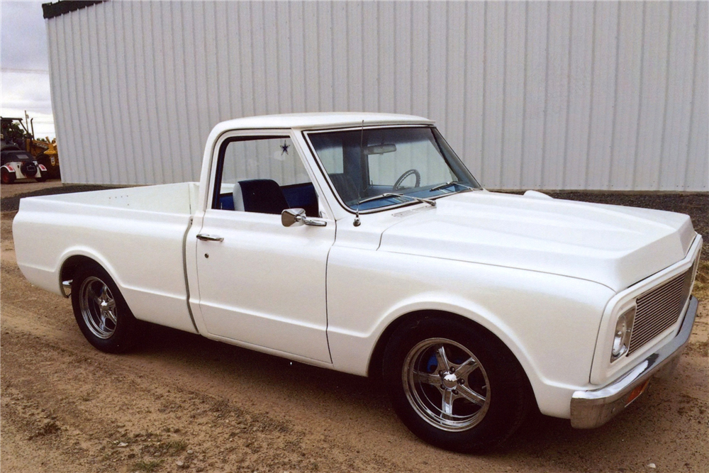 1968 GMC 150 CUSTOM PICKUP - Front 3/4 - 188636