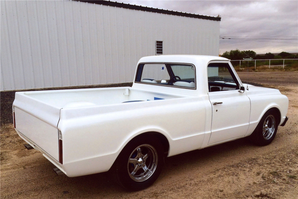 1968 GMC 150 CUSTOM PICKUP - Rear 3/4 - 188636
