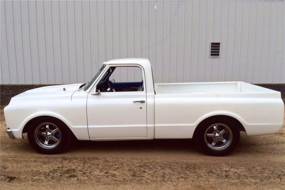 1968 GMC 150 CUSTOM PICKUP - Side Profile - 188636