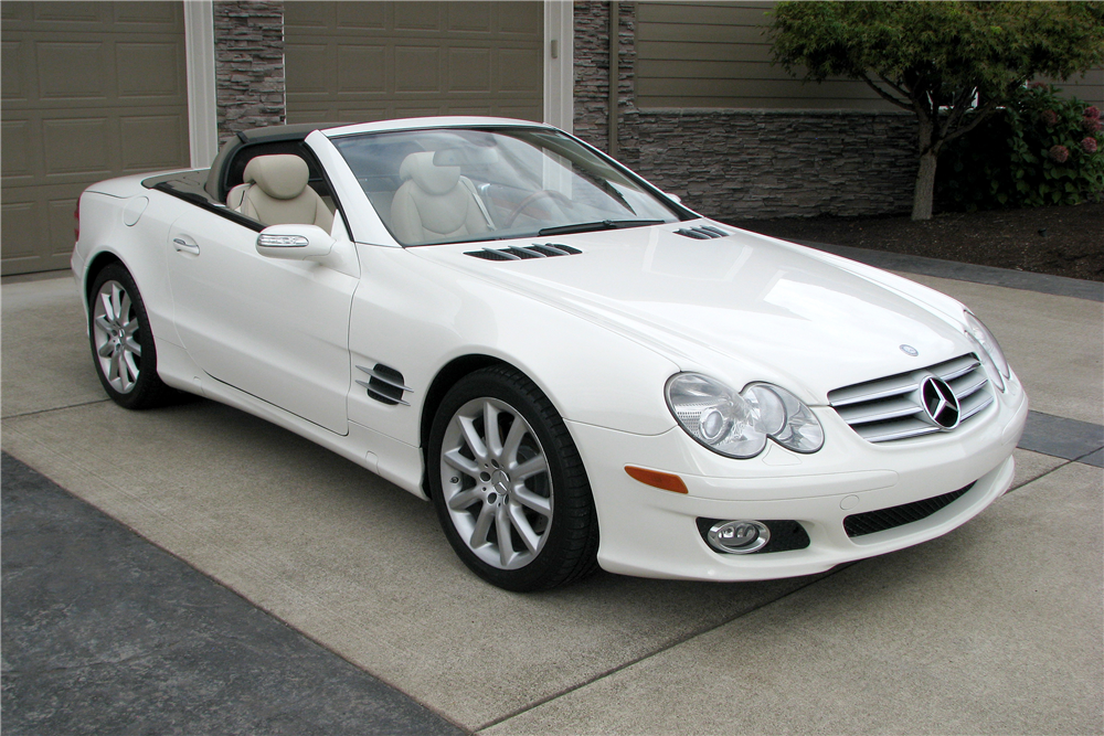 2007 Mercedes Benz Sl550 Convertible 188642