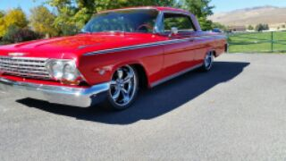 1962 CHEVROLET IMPALA CUSTOM COUPE - Front 3/4 - 188644