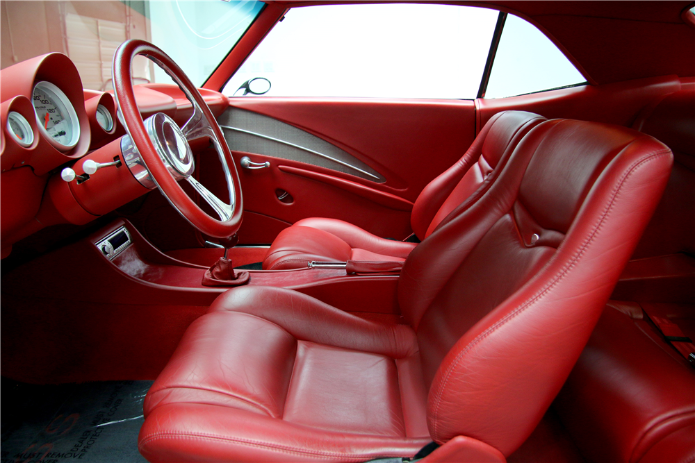 1969 CHEVROLET CAMARO CUSTOM COUPE - Interior - 188646