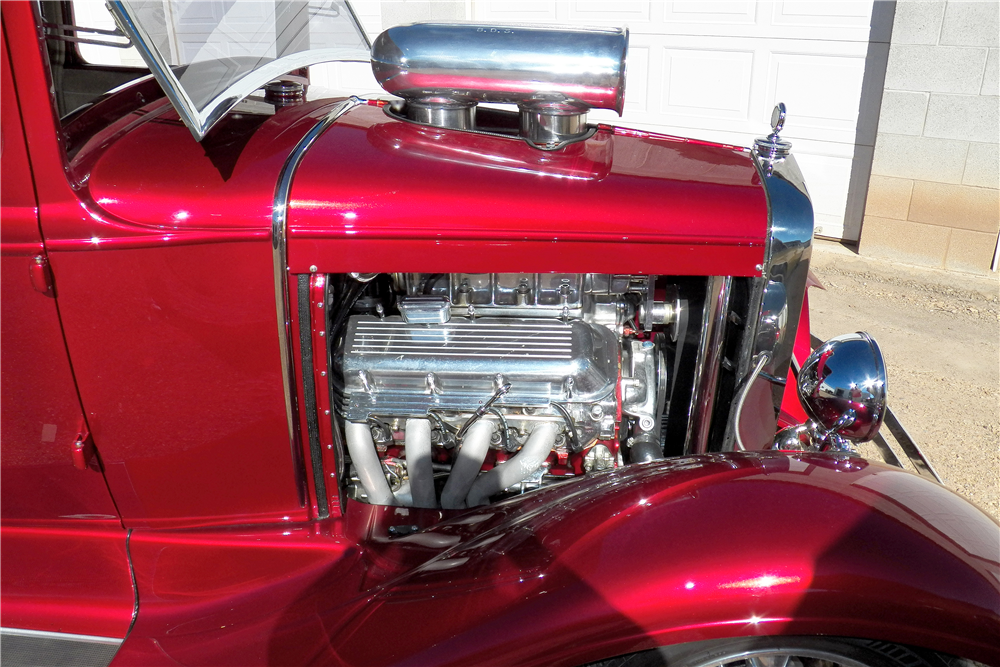 1930 FORD MODEL A CUSTOM COUPE - Engine - 188648