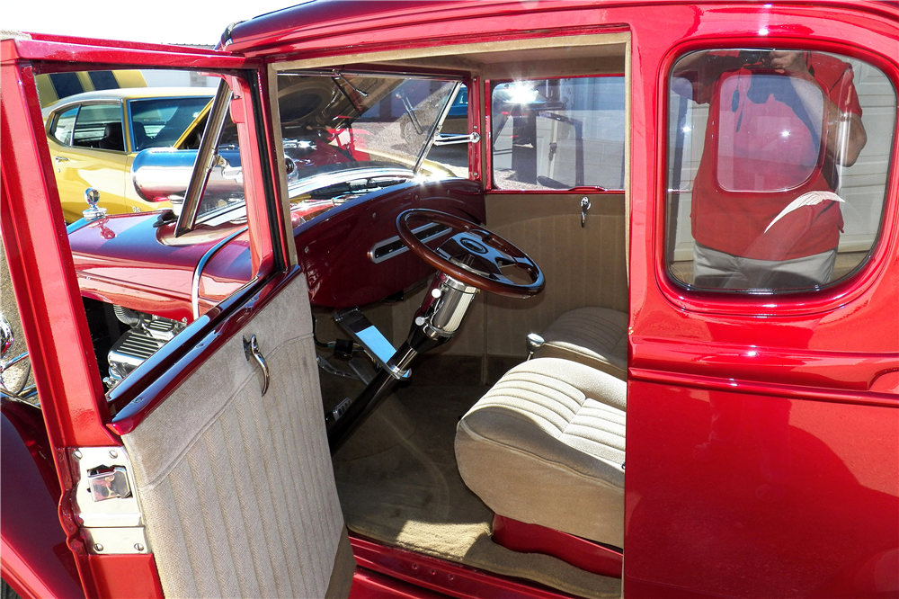 1930 FORD MODEL A CUSTOM COUPE - Interior - 188648