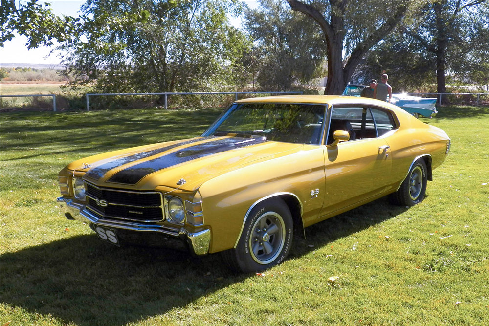 1971 CHEVROLET CHEVELLE SS  - Front 3/4 - 188650