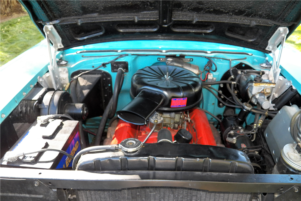 1957 CHEVROLET BEL AIR CONVERTIBLE - Engine - 188651