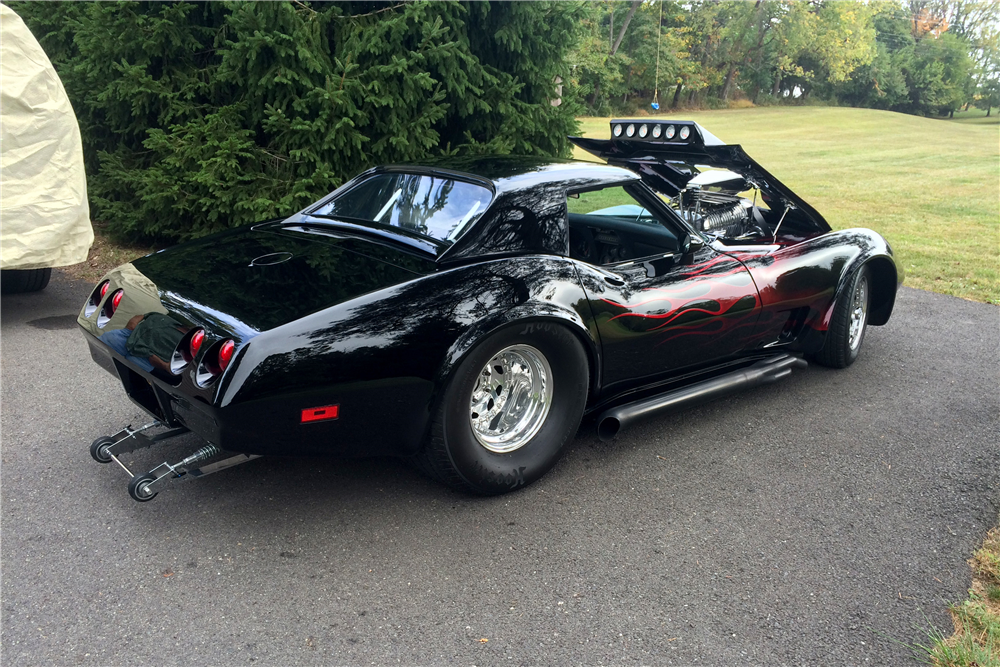 1970 CHEVROLET CORVETTE CUSTOM CONVERTIBLE - Rear 3/4 - 188663