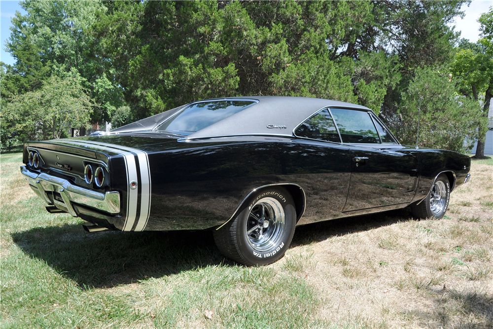 1968 DODGE CHARGER - Rear 3/4 - 188670