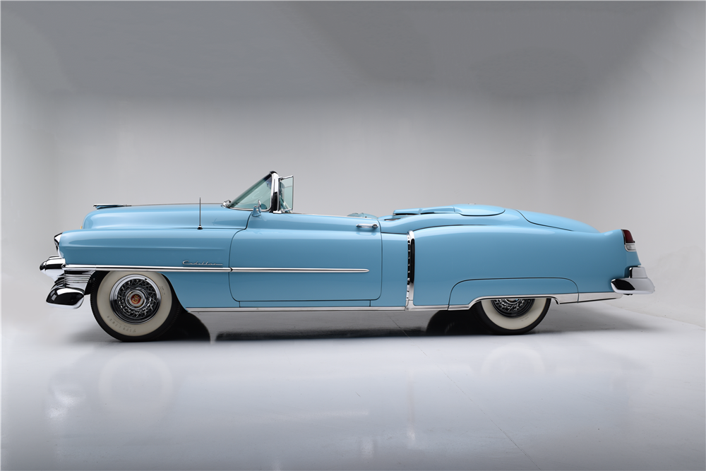 1953 CADILLAC ELDORADO CONVERTIBLE - Side Profile - 188679