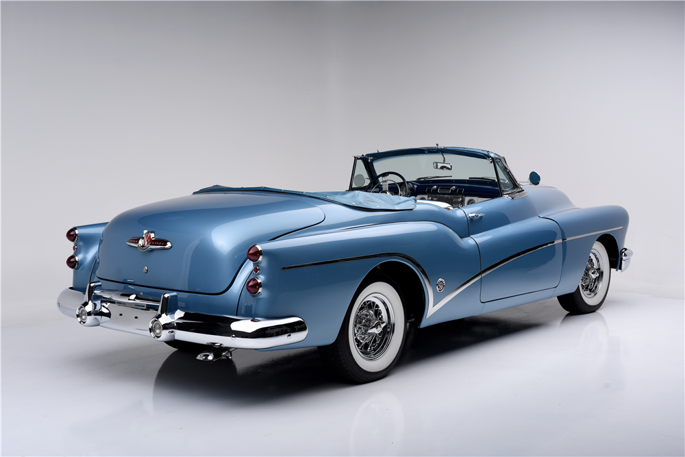 1953 BUICK SKYLARK CONVERTIBLE - Rear 3/4 - 188680