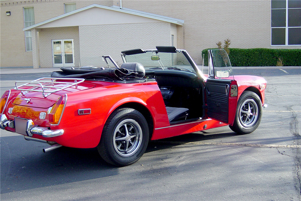 1974 MG MIDGET ROADSTER - Rear 3/4 - 188681