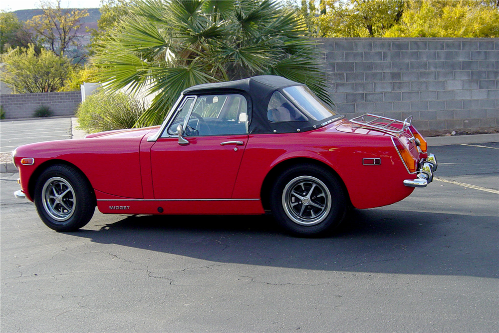 1974 MG MIDGET ROADSTER - Side Profile - 188681