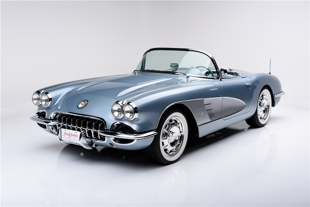 1958 Chevrolet Corvette Ls2 Custom Convertible 188682