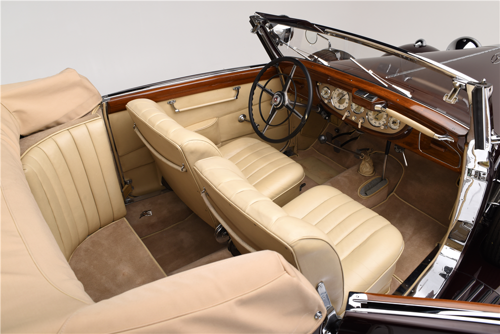 "1939 MERCEDES-BENZ 540K WITH ""CABRIOLET A"" BODY CONVERSION - Interior - 188684"