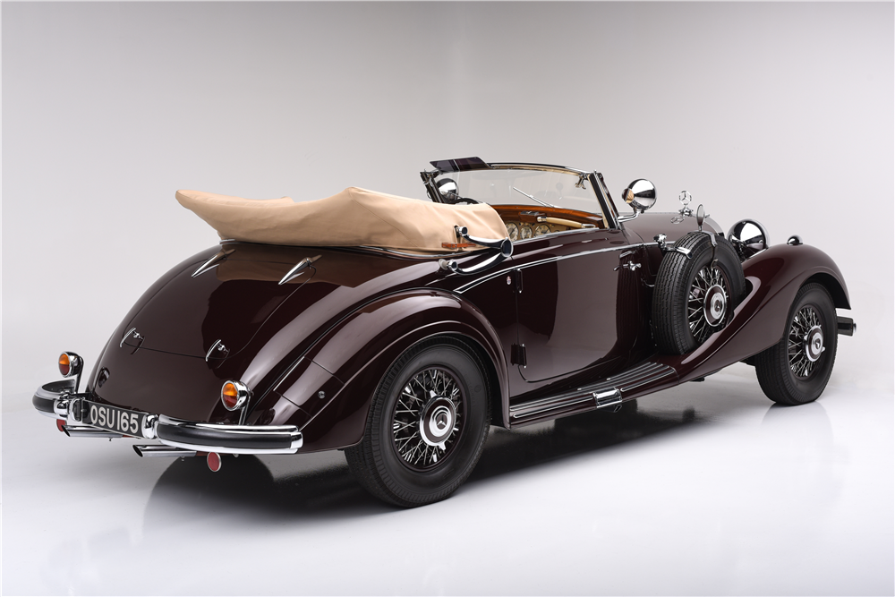 "1939 MERCEDES-BENZ 540K WITH ""CABRIOLET A"" BODY CONVERSION - Rear 3/4 - 188684"