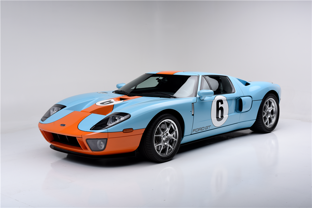 2006 FORD GT HERITAGE EDITION - Front 3/4 - 188705