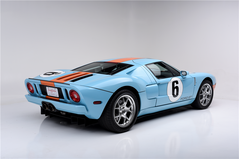 2006 FORD GT HERITAGE EDITION - Rear 3/4 - 188705