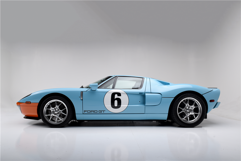 Ford Gt Heritage Edition Side Profile