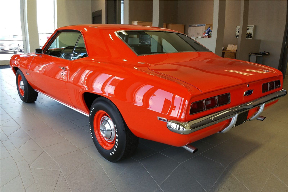 1969 CHEVROLET CAMARO COPO RE-CREATION - Rear 3/4 - 188711