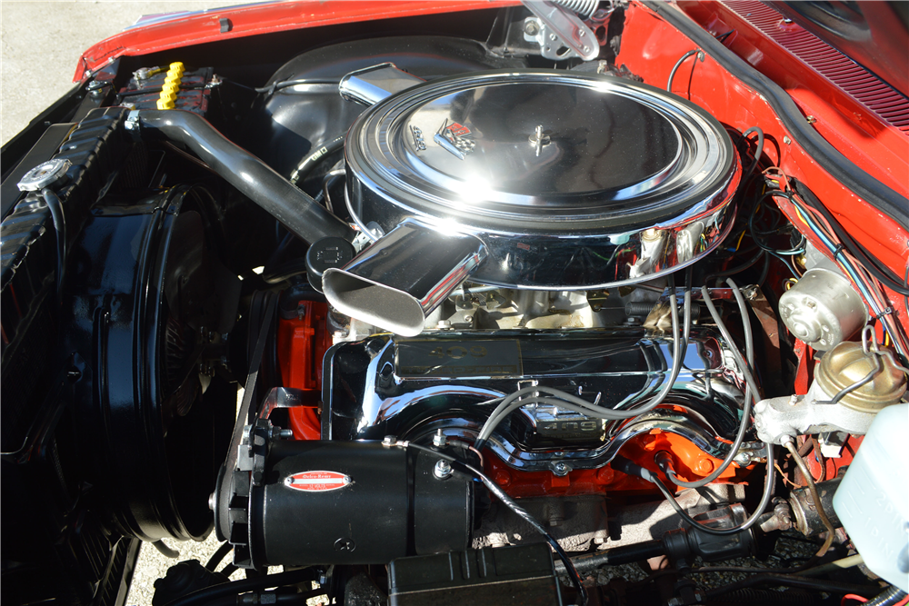 1962 CHEVROLET IMPALA SS 409 CONVERTIBLE - Engine - 188712