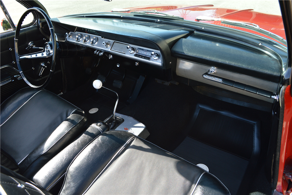 1962 CHEVROLET IMPALA SS 409 CONVERTIBLE - Interior - 188712
