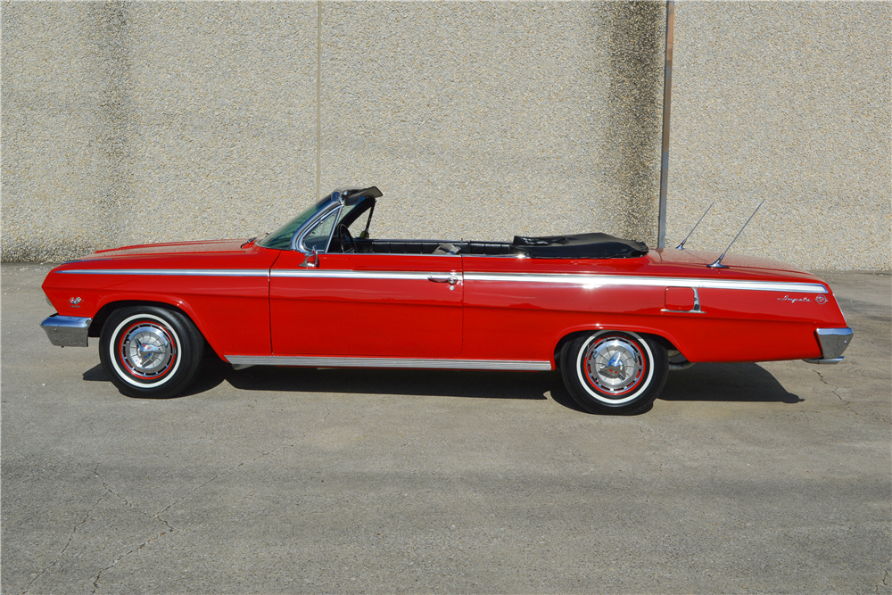 1962 CHEVROLET IMPALA SS 409 CONVERTIBLE - Side Profile - 188712