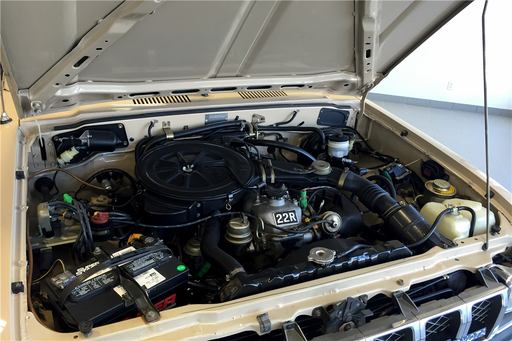 1982 TOYOTA 4X4 PICKUP - Engine - 188716