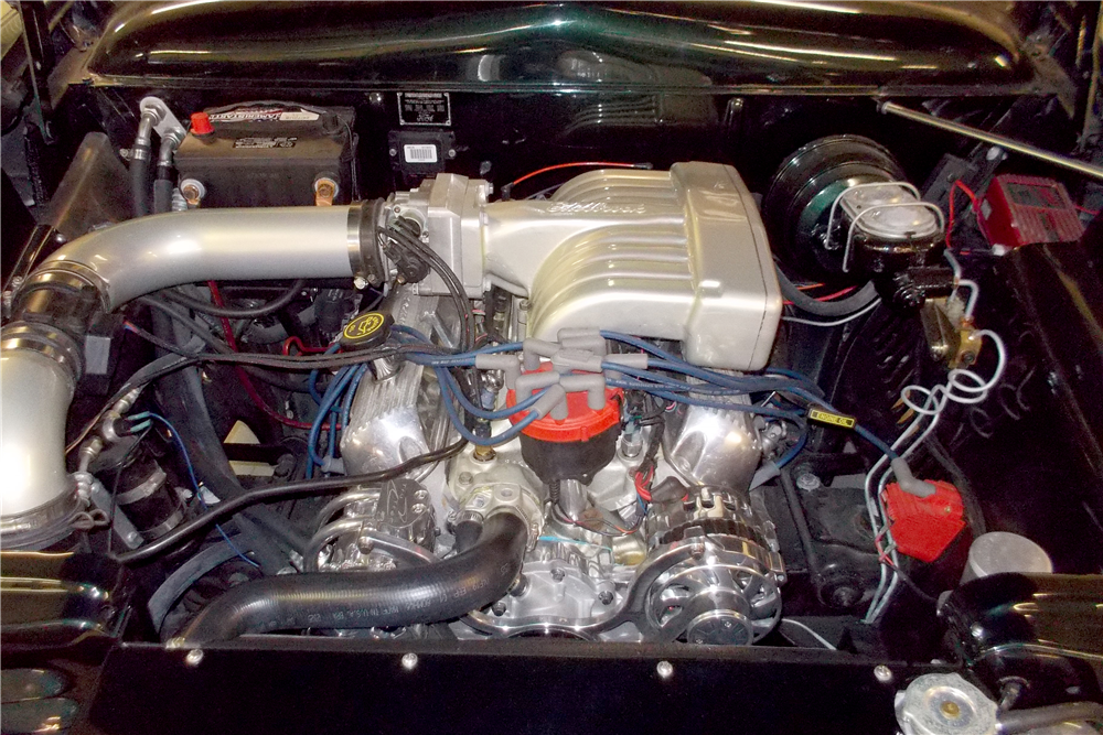 1951 FORD CUSTOM CONVERTIBLE - Engine - 188725