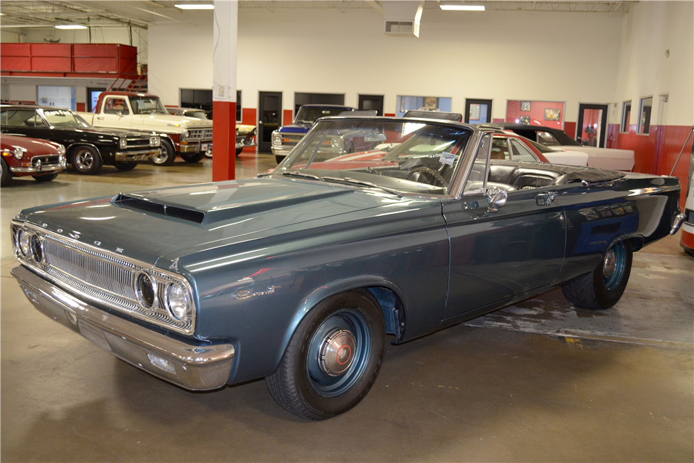 1965 DODGE CORONET 440 CUSTOM CONVERTIBLE - Front 3/4 - 188742