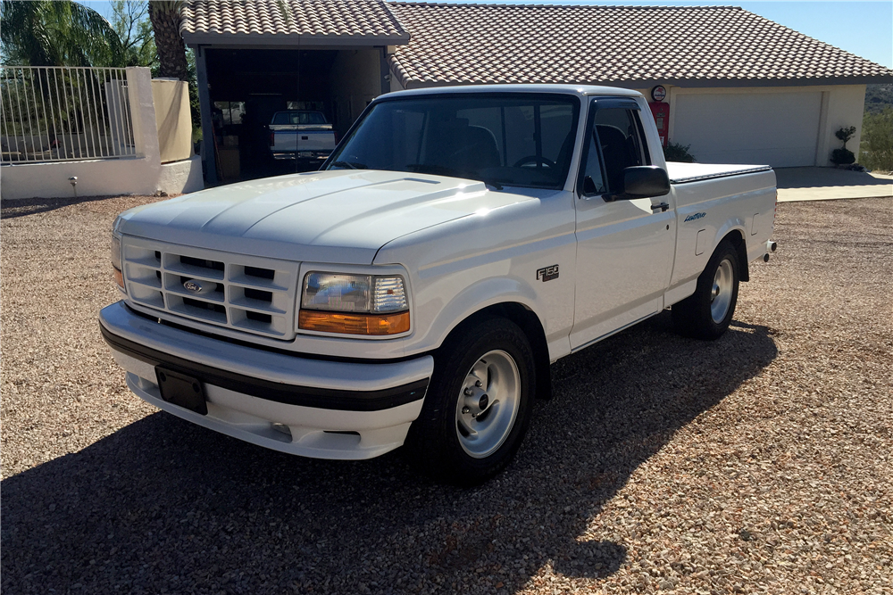 Front Web on Lowered 1994 Ford F 150 Lightning