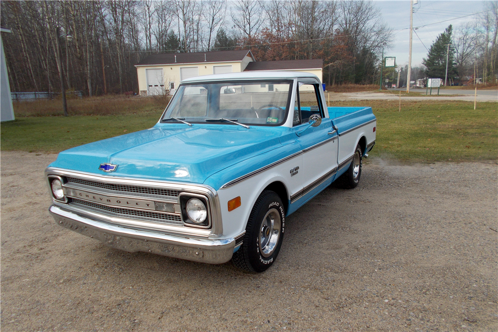 1969 CHEVROLET C-10 FLEETSIDE PICKUP - Misc 2 - 188752