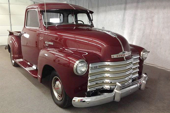 1950 CHEVROLET 3100 PICKUP - Front 3/4 - 188755