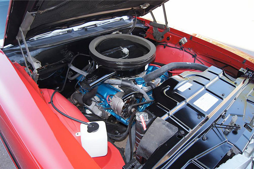 1970 OLDSMOBILE 442 W30 POST COUPE - Engine - 188760