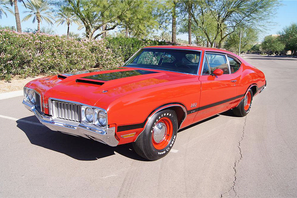 1970 OLDSMOBILE 442 W30 POST COUPE - Front 3/4 - 188760