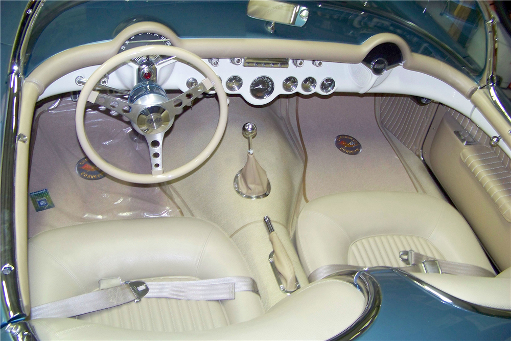 1954 CHEVROLET CORVETTE CUSTOM CONVERTIBLE - Interior - 188761
