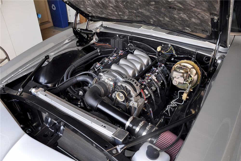 1967 CHEVROLET CAMARO CUSTOM COUPE - Engine - 188763