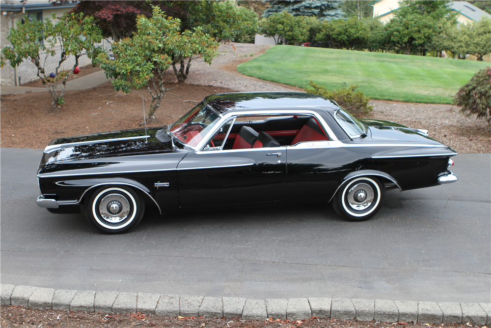 1962 PLYMOUTH FURY 413 MAX WEDGE - Side Profile - 188764