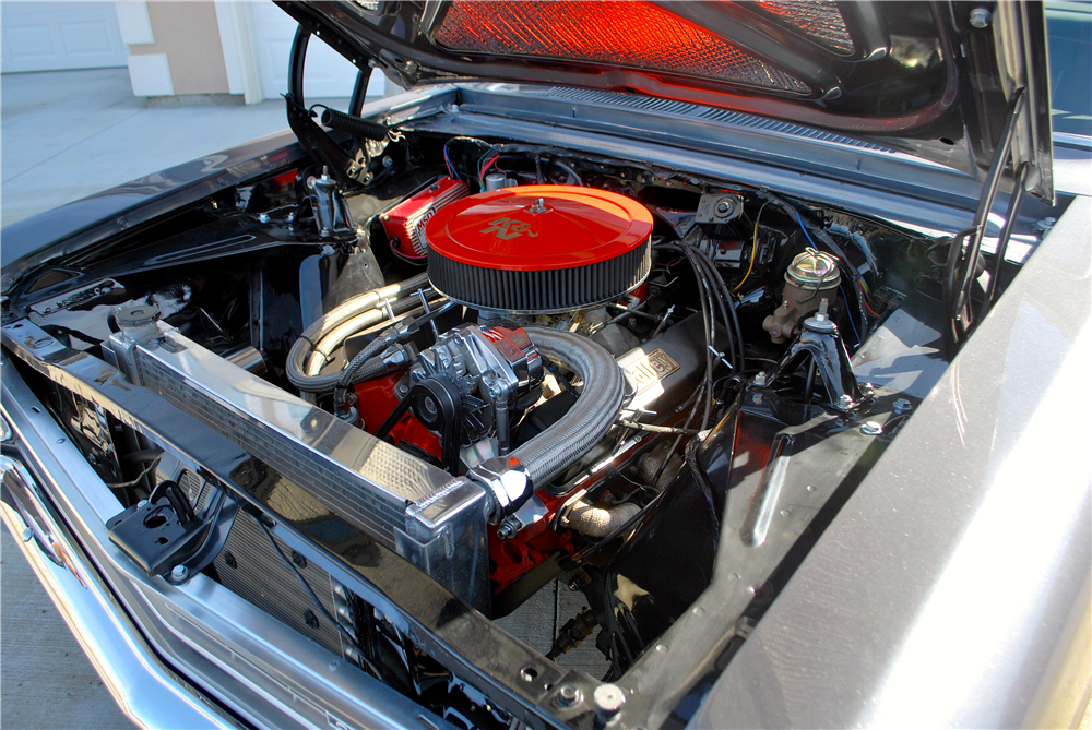 1966 CHEVROLET NOVA CUSTOM COUPE - Engine - 188775