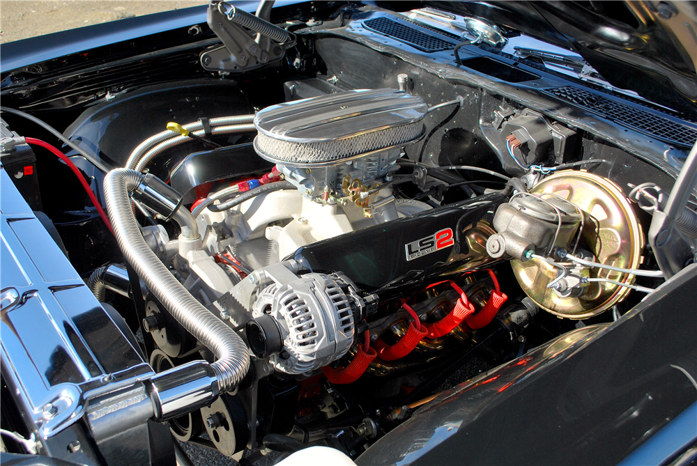 1970 CHEVROLET CHEVELLE SS CUSTOM CONVERTIBLE - Engine - 188777