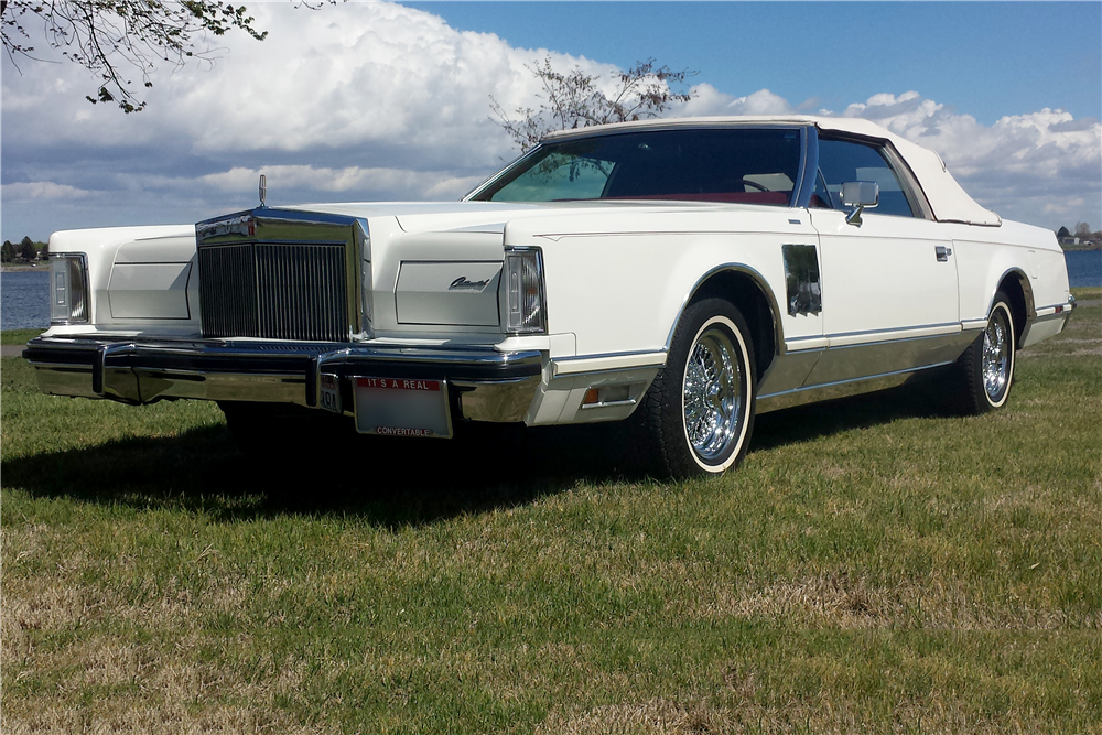1978 LINCOLN CONTINENTAL MARK V CUSTOM CONVERTIBLE - Front 3/4 - 188778